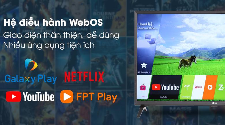 Smart Tivi LG 32 inch 32LK5400PTA - Hệ điều hành WebOS