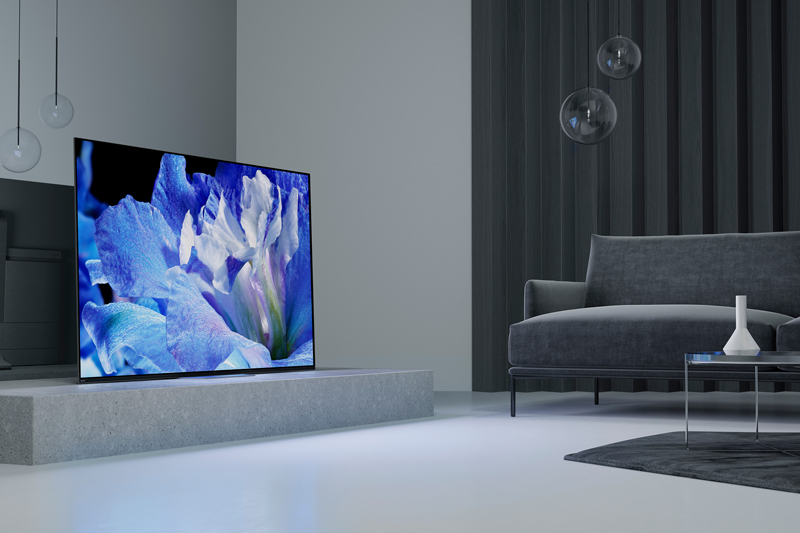 Tổng quan thiết kế Android Tivi OLED Sony 4K 55 inch KD-55A8F