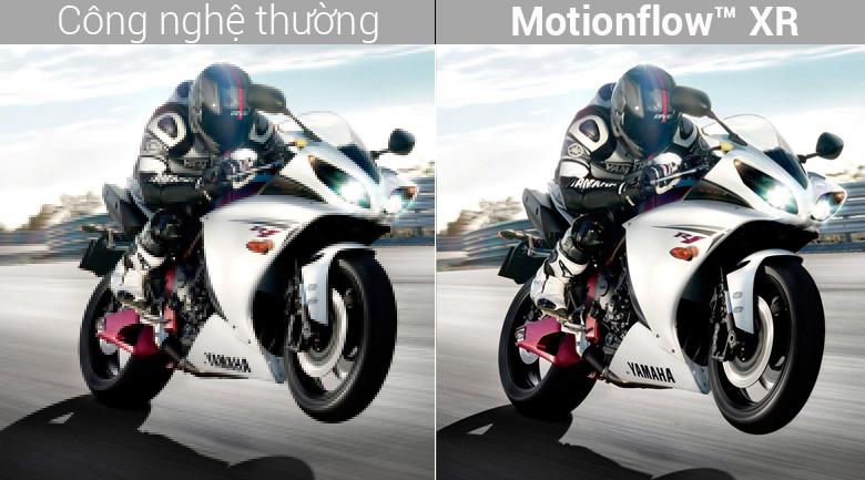 Bắt trọn chuyển động mượt mà với Motionflow XR 800 Hz