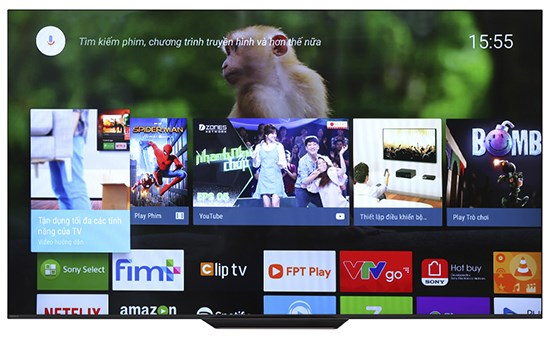"""Android TV OLED 4K SONY 55"""""""
