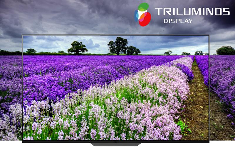 Công nghệ màn hình Triluminos trên Android Tivi OLED Sony 4K 55 inch KD-55A8F