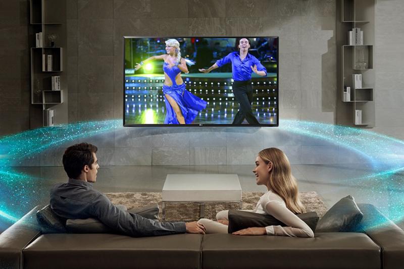Công nghệ âm thanh trên Smart Tivi LG 43 inch 43LK5400PTA