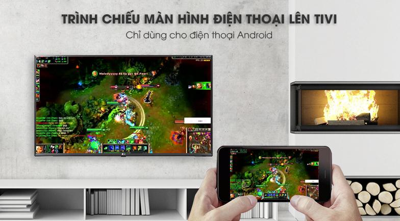 ứng dụng Screen Mirroring Smart Tivi LG 43 inch 43LK5400PTA