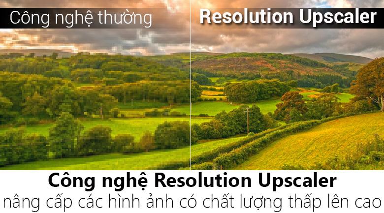 Công nghệ Resolution Upscaler trên Smart Tivi LG 49 inch 49LK5700PTA