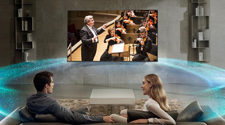 Công nghệ âm thanh ClearAudio+ trên Smart Tivi Sony 4K 55 inch KD-55X7000F