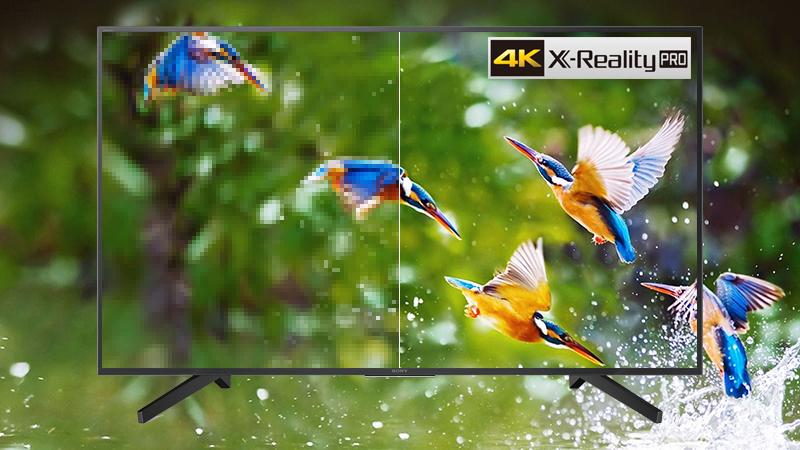 Công nghệ 4K X Reality Pro trên Smart Tivi Sony 4K 49 inch KD-49X7000F