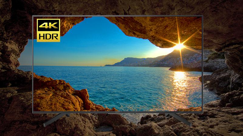 Công nghệ 4K HDR trên Smart Tivi Sony 4K 49 inch KD-49X7000F