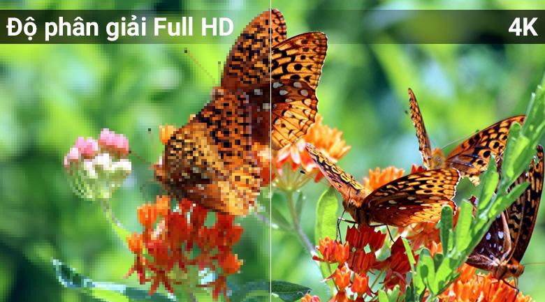 Độ phân giả 4K trên Màn hình 4K trên Tivi QLED Samsung QA49Q6FN