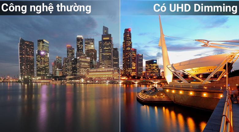 Công nghệ UHD Dimming trên Smart Tivi QLED Samsung 4K 49 inch QA49Q6FN