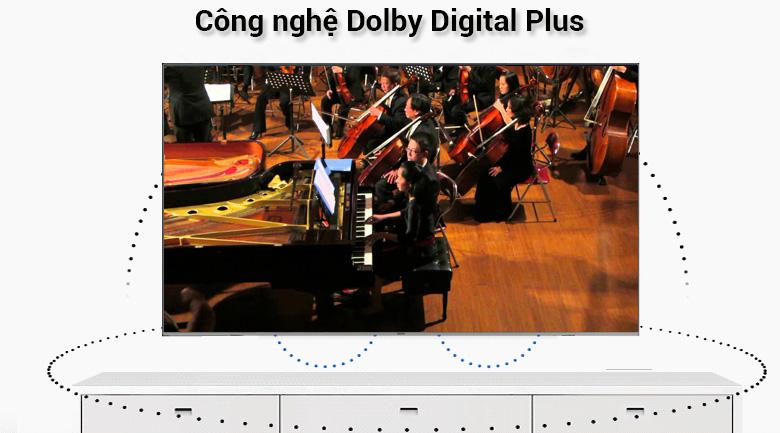 Smart Tivi QLED Samsung 4K 55 inch QA55Q6FN - công nghệ Dolby Digital Plus
