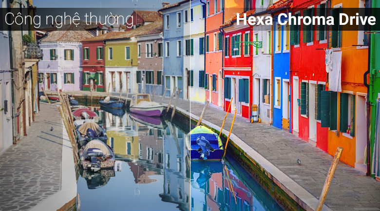 Công nghệ Hexa Chroma Drive trên Smart Tivi Panasonic 4K 49 inch TH-49FX500V