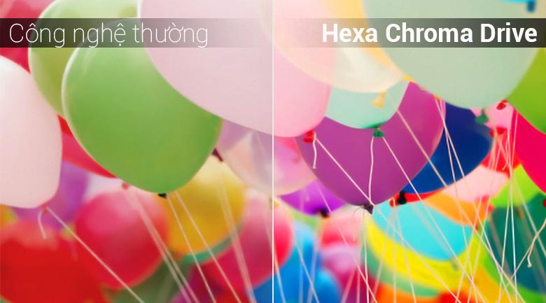 Công nghệ Hexa Chroma Drive trên Tivi LED Panasonic TH-43FX500V