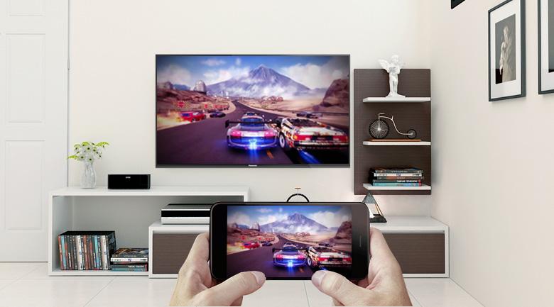 Tính năng Screen Mirroring trên Tivi LED Panasonic TH-43FX500V