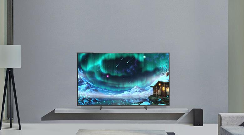 Thiết kế tinh tế trên Tivi LED Panasonic TH-43FX500V
