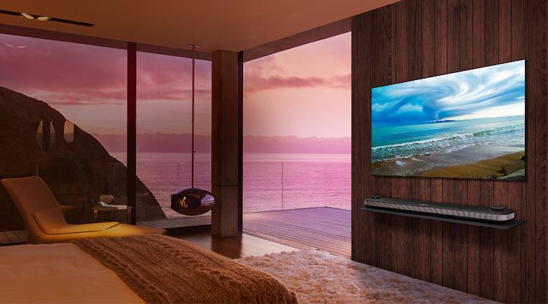 Smart Tivi OLED LG 4K 77 inch 77W8PTA - Thiết kế tối giản