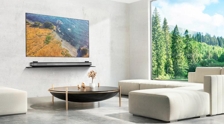 Thiết kế tối giản, tinh tế trên Smart Tivi OLED LG 4K 65 inch 65W8PTA