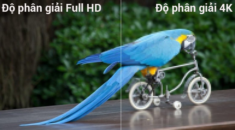 Độ phân giải 4K trên Smart Tivi LG 4K 55 inch 55UK6340PTF