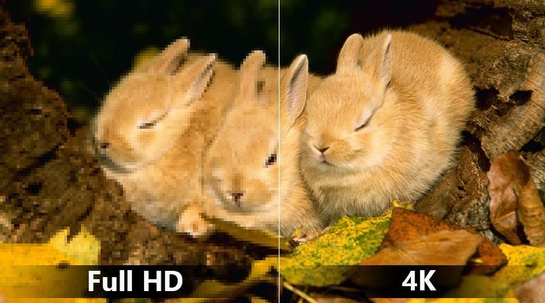 Độ phân giải 4K sắc nét trên Smart Tivi LG 4K 55 inch 55UK7500PTA