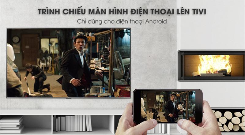 Chiếu màn hình điện thoại lên Smart Tivi LG 4K 55 inch 55UK7500PTA