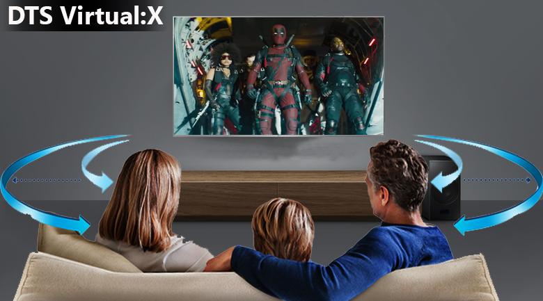 Công nghệ âm thanh DTS Virtual:X trên Smart Tivi LG 4K 55 inch 55UK7500PTA