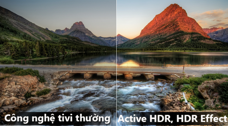 Công nghệ Active HDR trên Smart Tivi LG 4K 55 inch 55UK7500PTA
