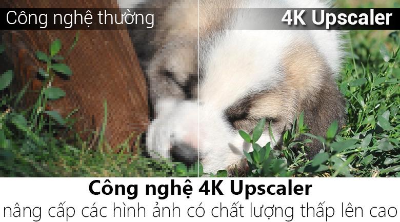 Công nghệ 4K Upscaler  trên Smart Tivi LG 4K 65 inch 65UK6340PTF