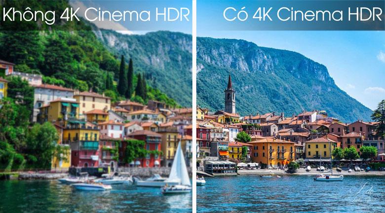Smart Tivi OLED LG 4K 55 inch 55E8PTA - Công nghệ 4K Cinema HDR