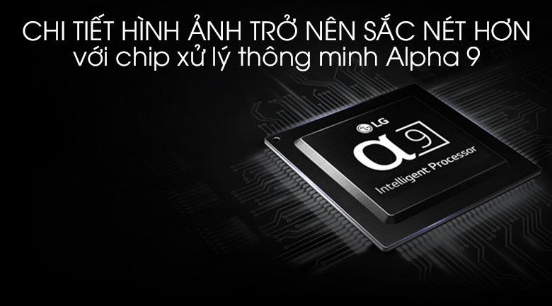 Smart Tivi OLED LG 4K 55 inch 55E8PTA - Chip xử lý hình ảnh Alpha 9