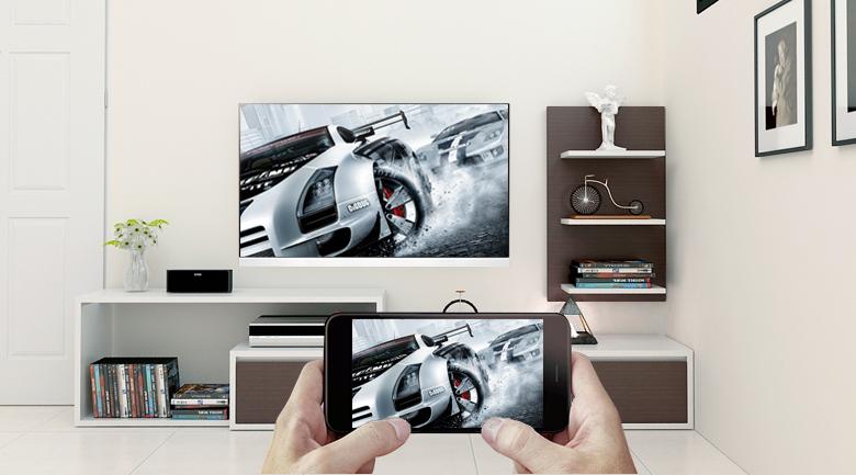 Chiếu màn hình điện thoại thông minh lên tivi bằng tính năng Screen Mirroring trên Smart Tivi OLED LG 4K 55 inch 55E8PTA