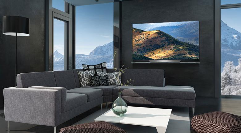 Thiết kế hiện đại, sang trọng trên Smart Tivi OLED LG 4K 55 inch 55E8PTA