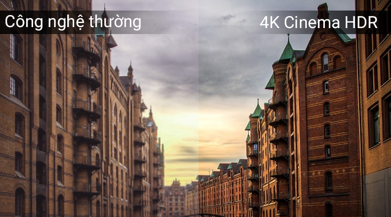 Chế độ 4K Cinema HDR trên Smart Tivi LG 4K 75 inch 75SK8000PTA