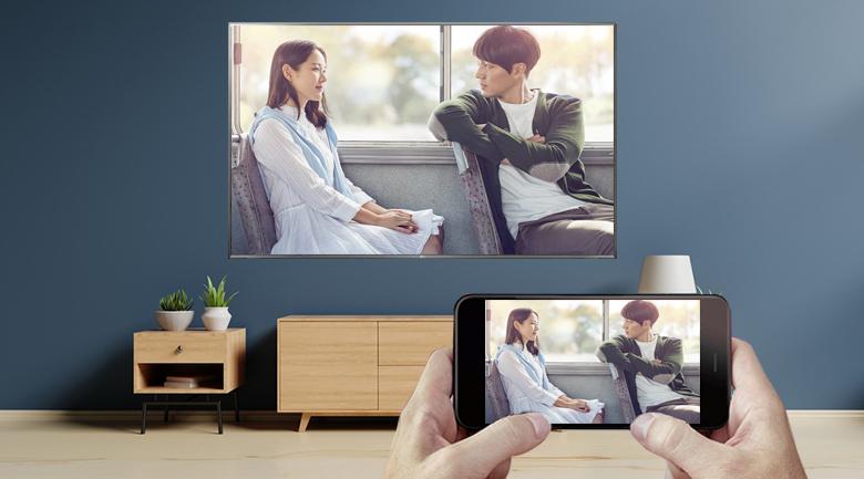 Chiếu màn hình điện thoại - Smart Tivi LG 4K 75 inch 75UK6500PTB