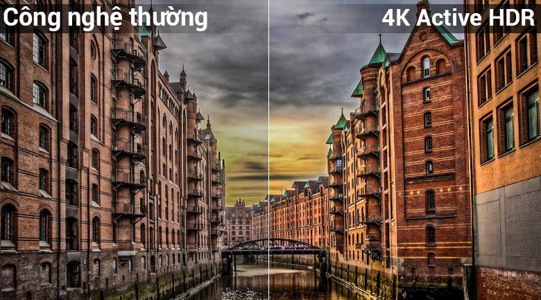 Công nghệ 4K Active HDR cho hình ảnh cực kì chi tiết