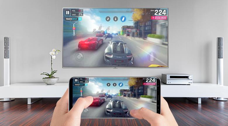Tính năng Screen Mirroring trên Smart Tivi LG 4K 65 inch 65UK7500PTA