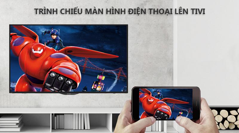 Trình chiếu hình ảnh từ điện thoại lên màn hình tivi