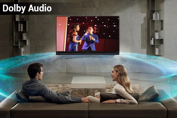 Công nghệ âm thanh Dolby Audio trên Smart Tivi Sharp FHD 40 inch LC-40SA5500X