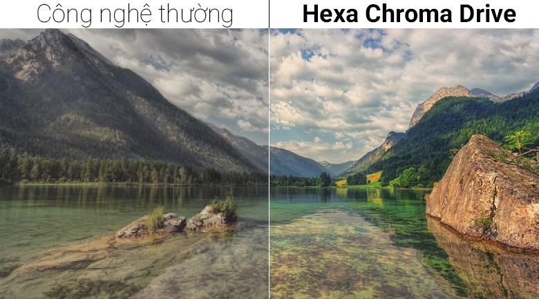 Công nghệ Hexa Chroma Drive trên Smart Tivi Panasonic 40 inch TH-40FS500V