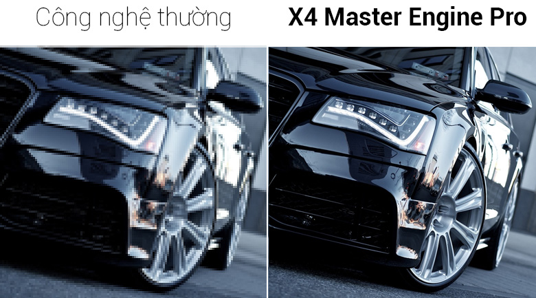 Smart Tivi Sharp FHD 50 inch LC-50SA5500X - Công nghệ X4 Master Engine Pro