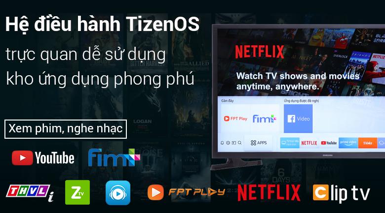 Smart Tivi Samsung 32 inch UA32N4300 - Hệ điều hành TizenOS
