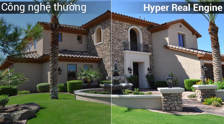Công nghệ Hyper Real Engine giúp nâng cao chất lượng hình ảnh Smart Tivi Samsung 32 inch UA32N4300