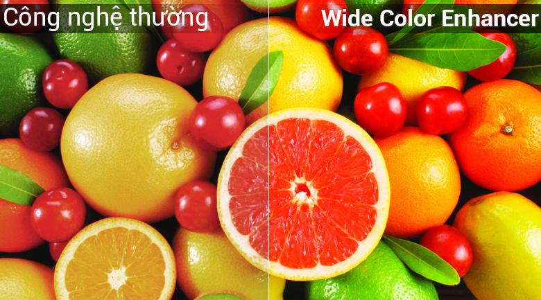 Màu sắc rực rỡ hơn nhờ công nghệ Wide Color Enhancer Smart Tivi Samsung 32 inch UA32N4300