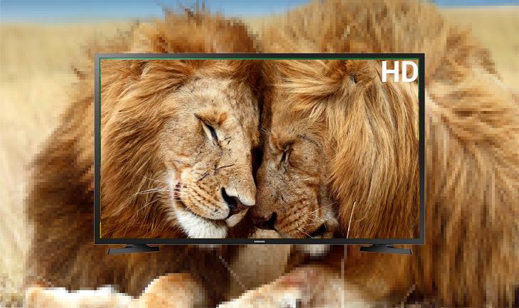 Độ phân giải HD mang đến những hình ảnh rõ nét Smart Tivi Samsung 32 inch UA32N4300