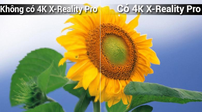 công nghệ 4K X-Reality PRO trên Smart Tivi 4K Sony 65 inch KD-65X7000F