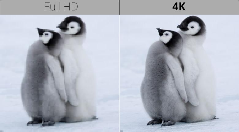 Chất lượng hình ảnh 4K của Smart Tivi QLED Samsung 4K 65 inch QA65Q9FN