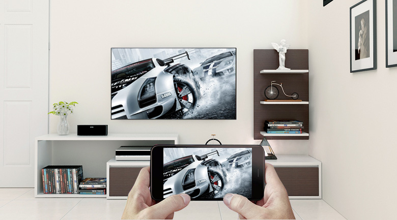 Android Tivi Sony 4K 60 inch KD-60X8300F - Công nghệ Screen Mirroring