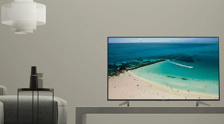 Thiết kế sang trọng, tinh tế trên Android Tivi Sony 4K 70 inch KD-70X8300F