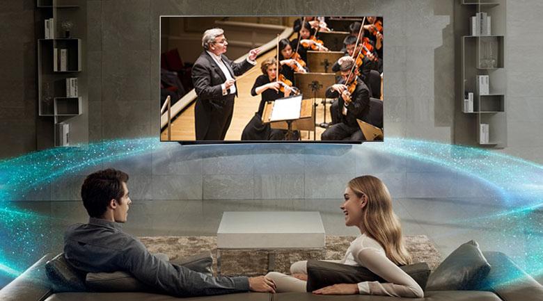 Công nghệ Dolby Atmos trên Smart Tivi LG 4K 49 inch 49SK8000PTA