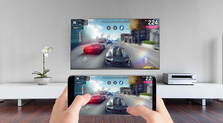 Miracast (Screen Mirroring) trên Smart Tivi LG 4K 49 inch 49SK8000PTA
