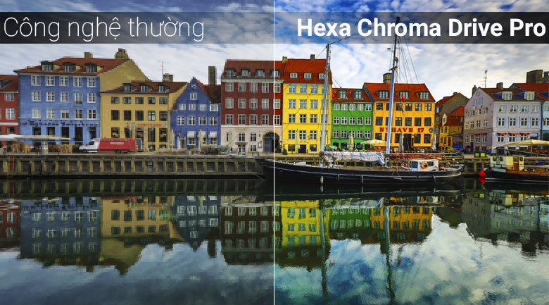 Công nghệ Hexa Chroma Drive Pro trên Smart Tivi Panasonic 4K 49 inch TH-49FX800V