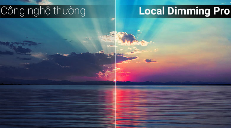 Công nghệ Local Dimming Pro trên Smart Tivi Panasonic 4K 49 inch TH-49FX800V